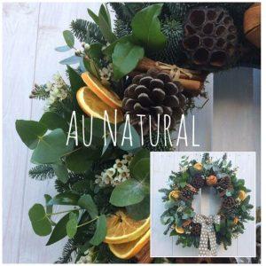 Au Natural Christmas Wreath