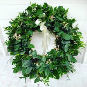 Fragrant Foliage Wreath