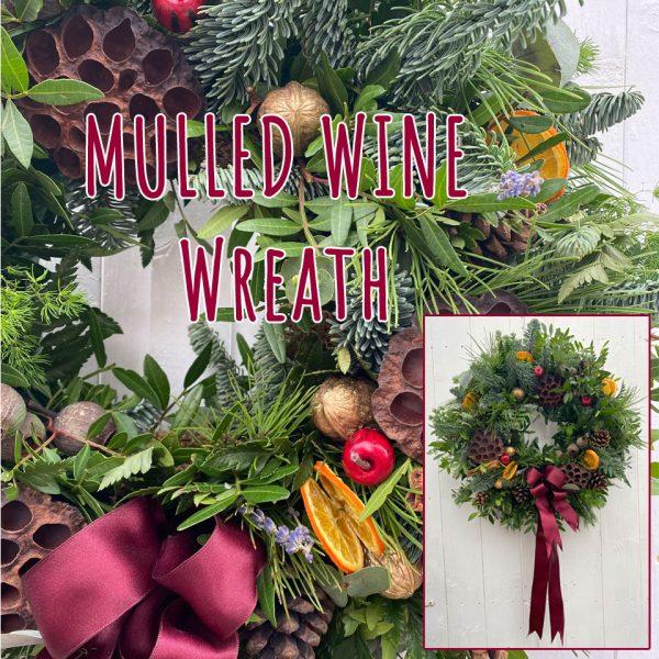 Mulled Wine Wreath