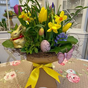 Easter Spring-Time Flowerbox