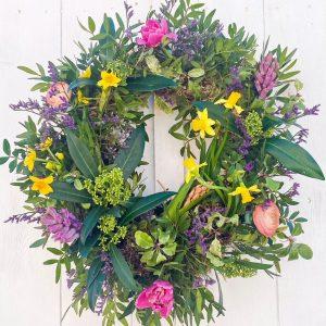 Living Spring Wreath